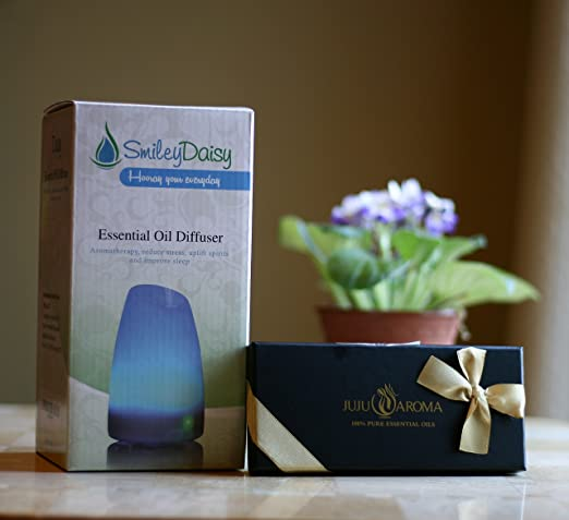 Aromatherapy Diffuser with Essential Oil Gift Set