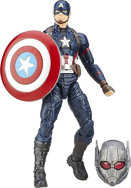 "Marvel Legends 6/"" scale figure Captain America Crossbones 10 complete excellent"