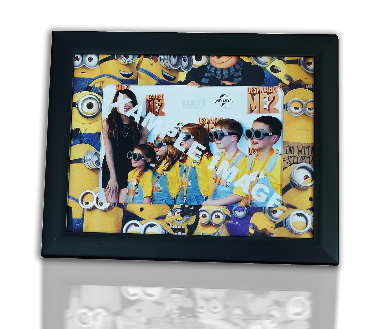 Minions stile cornice per un 6 x 4 foto Flashmounts