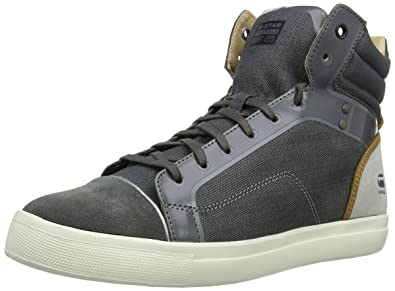 Mens New Augur Hi-Top Sneakers G-Star 4bczgc6ibT