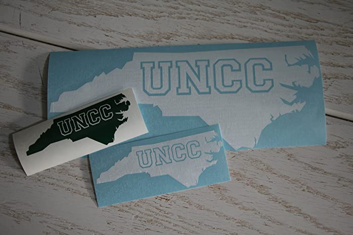 Amazon Com Uncc 49ers Vinyl Decal Sticker Uncc Fan Uncc Graduate