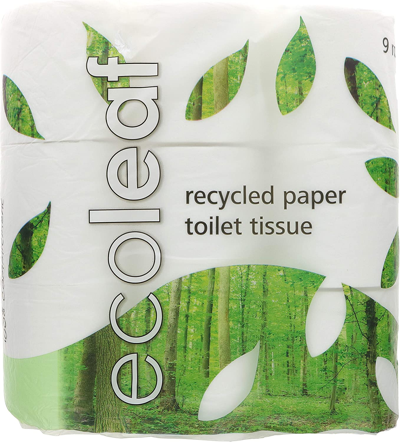Suma Ecoleaf Toilet Tissue 9 Rolls (Pack of 5, Total 45 Rolls)