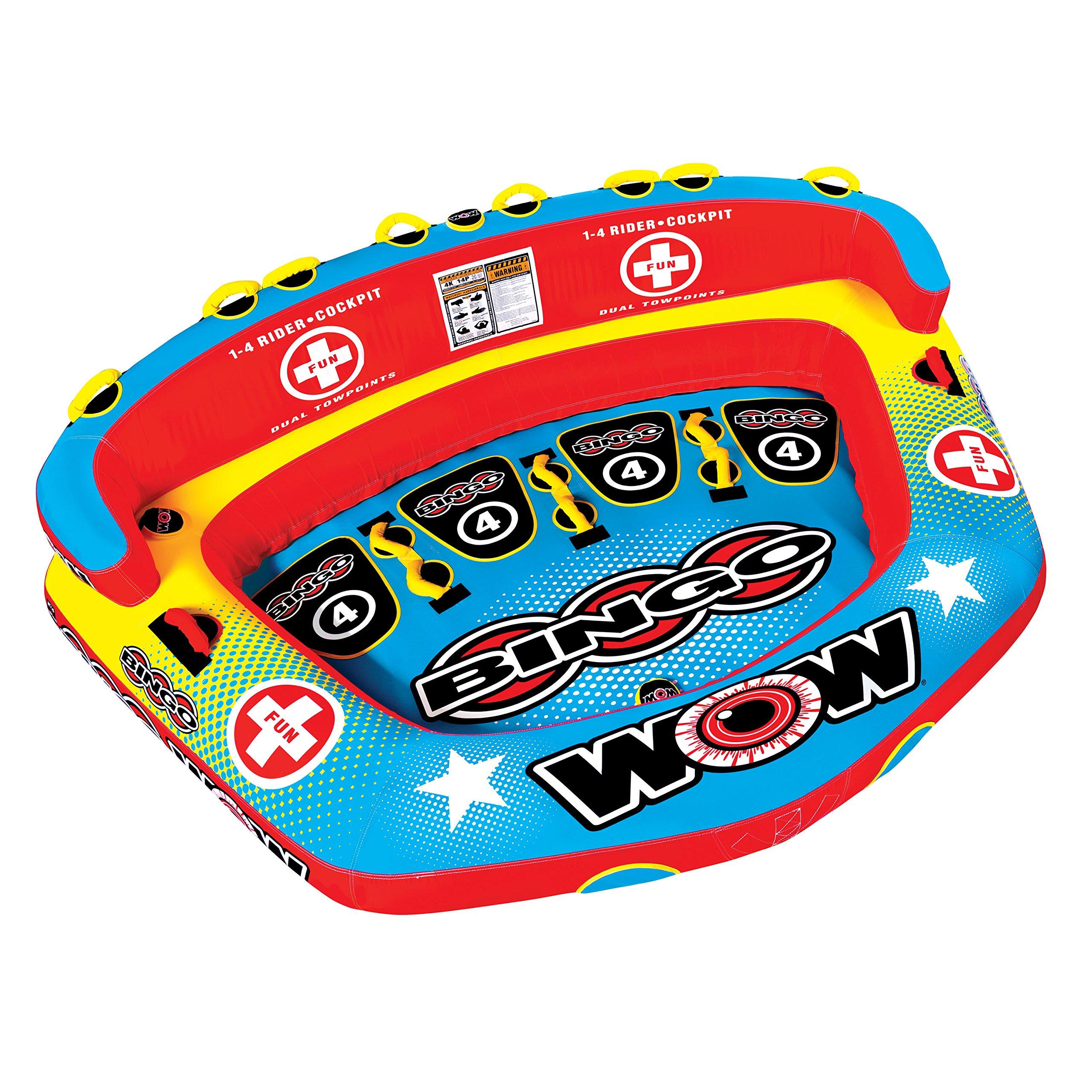 WOW Bingo 4 Rider Towable by WOW