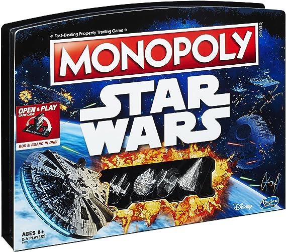 Monopoly Game: Star Wars Edition: Amazon.es: Juguetes y juegos