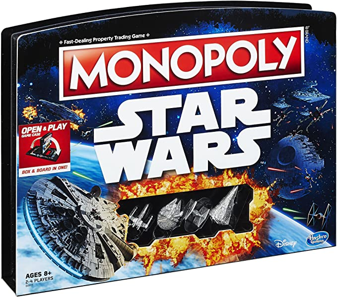 Monopoly Game: Star Wars Edition: Amazon.es: Juguetes y juegos