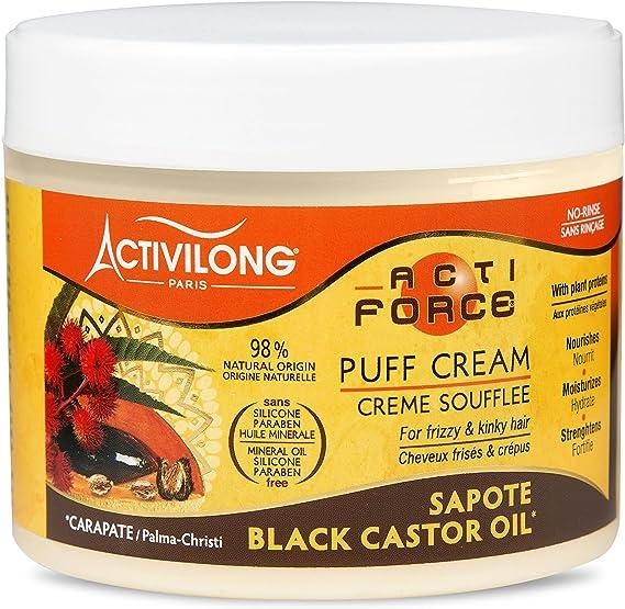 Activilong Actiforce Crema para el cabello, ricino, aceite de ...