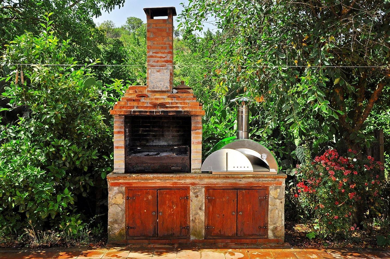 Horno de leña para pizza Nonno Peppe: Amazon.es: Hogar
