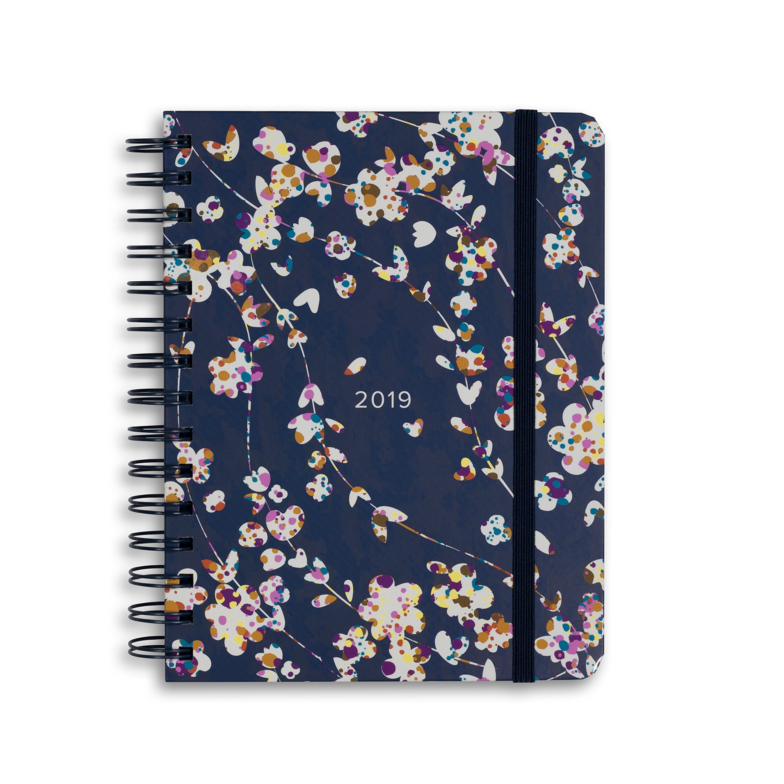 Vera Bradley 17 Month Medium Hardcover Planner 2018-2019 (Cut Vine)