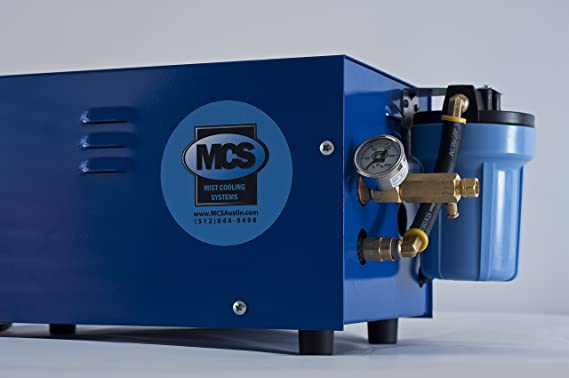 1 GPM, Enclosed Bomba de alta presión portátil con vaporizador con protección de seguridad fabricado en bajo agua y electrónico solenoide: Amazon.es: Hogar