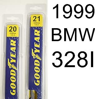 "product image for BMW 328I (1999) Wiper Blade Kit - Set Includes 21"" (Driver Side), 20"" (Passenger Side) (2 Blades Total)"