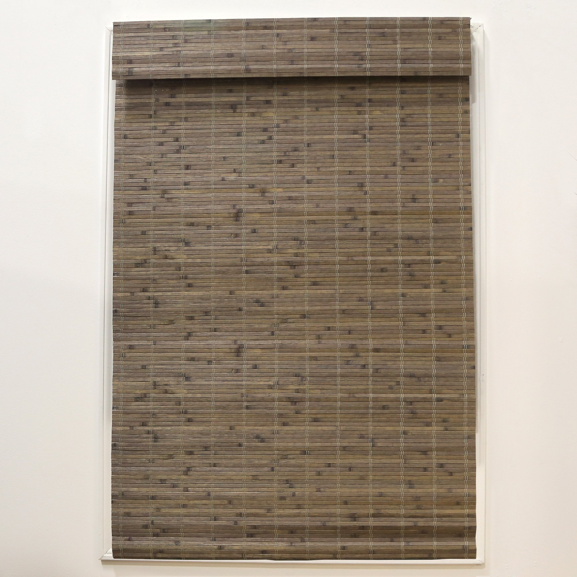 Radiance Cordless Driftwood Dockside Flatstick Bamboo Roman Shade by RADIANCE