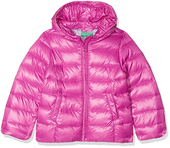 United Colors of Benetton Down Jacket, Chaqueta para Niñas: Amazon.es: Ropa y accesorios