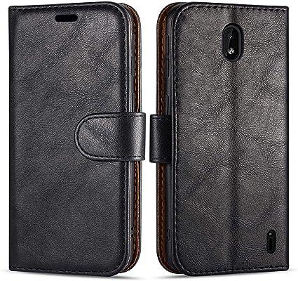 Case Collection Funda de Cuero para Nokia 2.2 (5,71