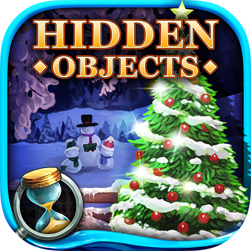 (Hidden Objects - Winter Garden)