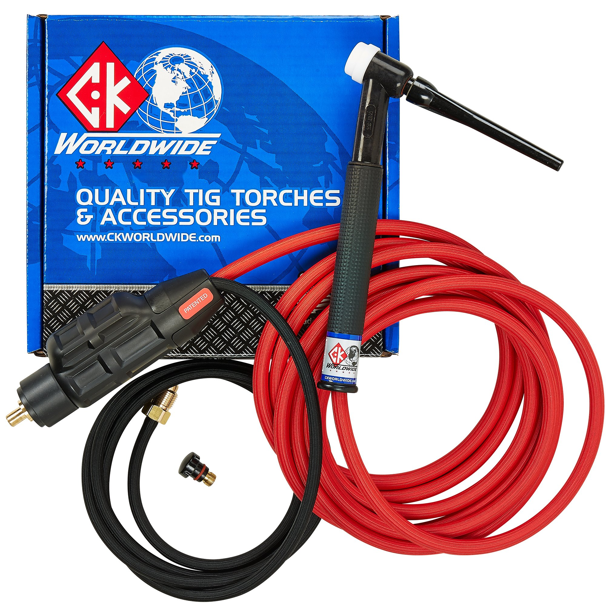 PRIMEWELD TIG225X 225 Amp IGBT AC DC Tig/Stick Welder with Pulse CK17 Flex Torch and Cable 3 Year Warranty by PRIMEWELD (Image #4)