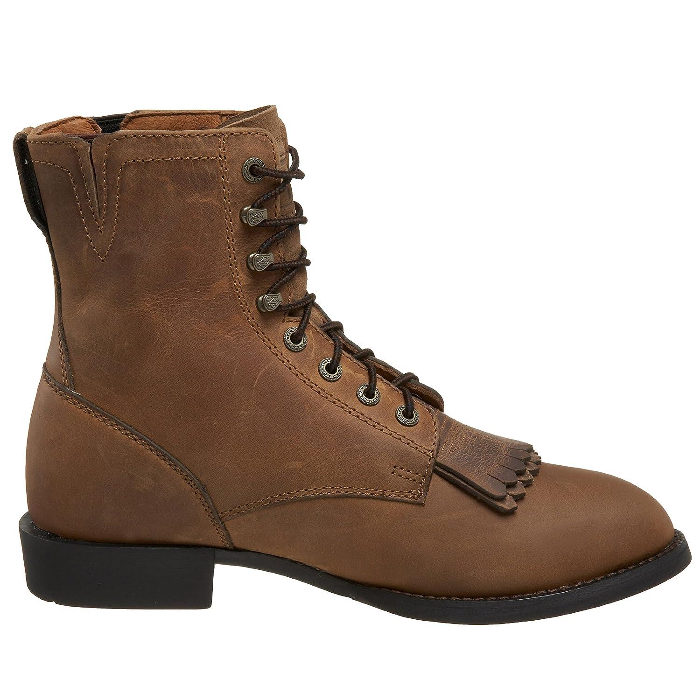 Ariat Women's Heritage Lacer II 5.5 Western Cowboy Boot B000YENV8U 5.5 II B(M) US|Distressed Brown 2329bd