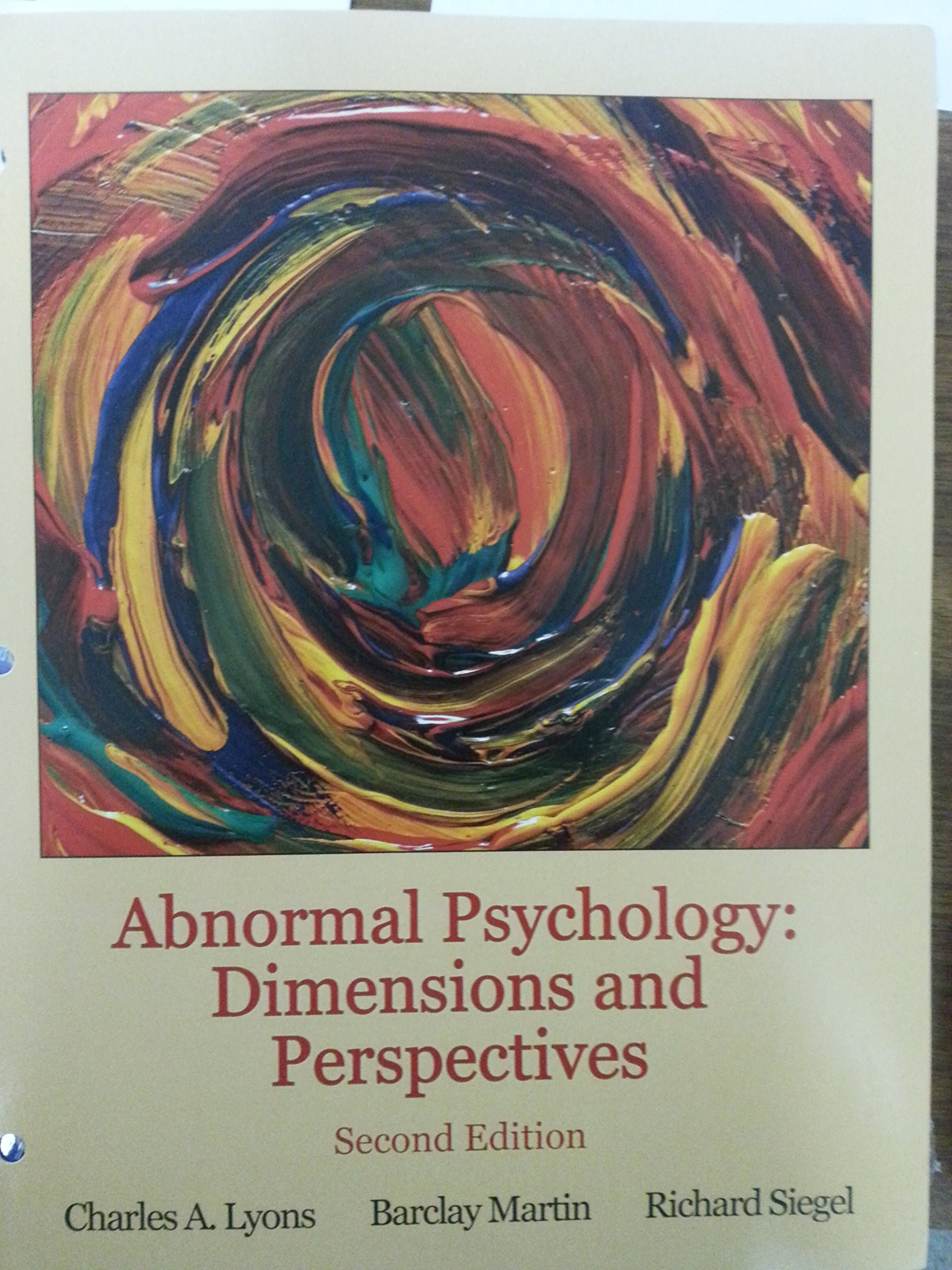 case study in abnormal psychology essay Fundamentals of abnormal psychology comer, ronald j abnormal psychology whitbourne, susan krauss this casebook presents comprehensive coverage of 23 high interest cases that include topics such as eating disorders, gender identity disorder, borderline personality, and posttraumatic.