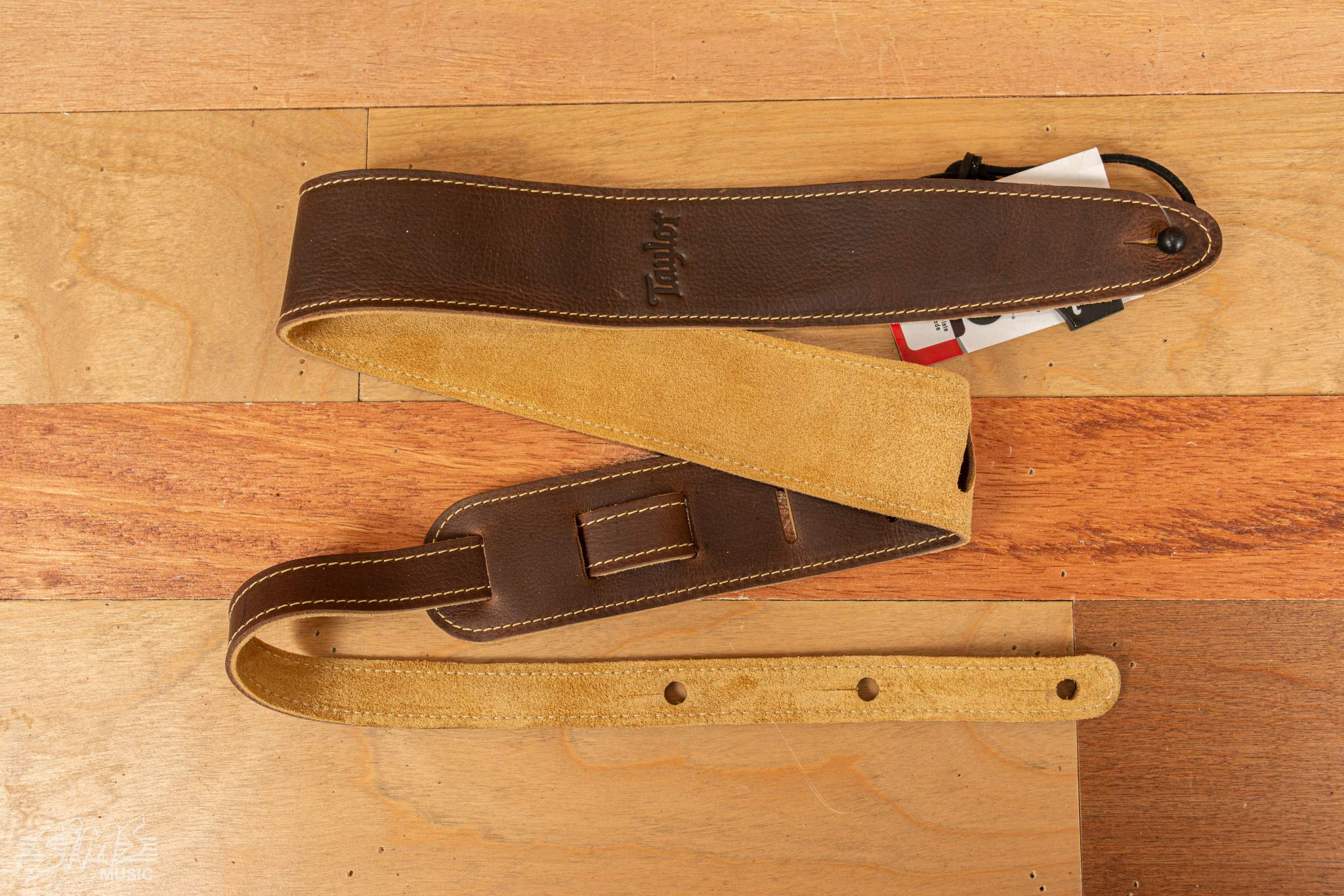 Taylor Leather Suede 2.5 Inches Guitar Strap - Chocolate Brown by Taylor