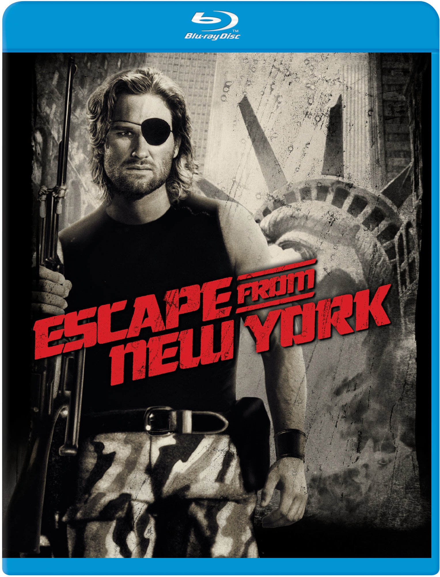 Blu-ray : Escape From New York (Blu-ray)