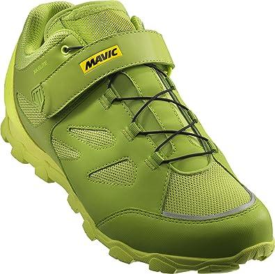 Mavic XA Elite - Zapatillas - Verde Talla del Calzado UK 10,5 / EU 45 1/3 2018: Amazon.es: Zapatos y complementos