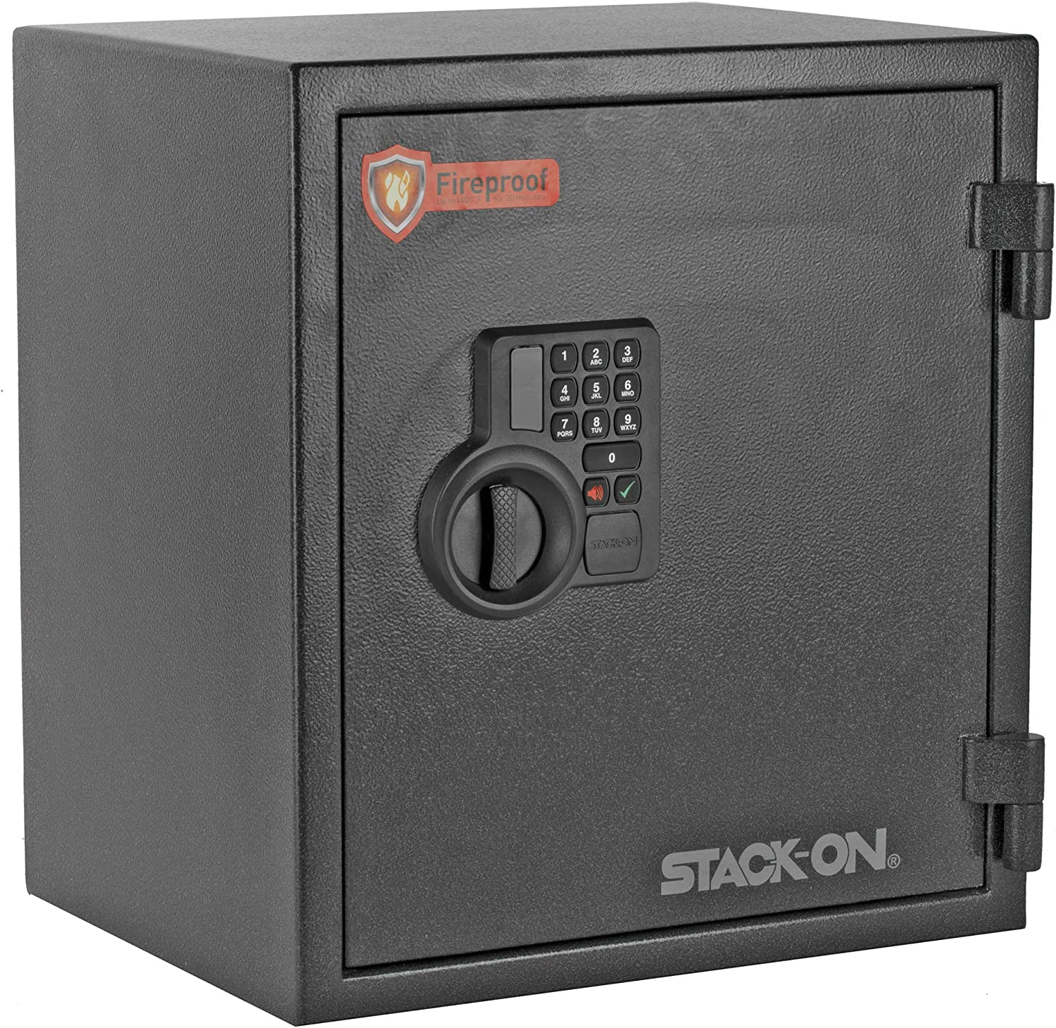 Stack-On PFS-019-BG-E Large Home and Office 2 Cubic Foot Personal Steel Fireproof Security Safe Box with Electronic Lock