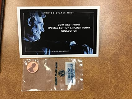 2019 W Lincoln Proof New Premium First Ever West Point M//M Gem Deep Cameo Proof