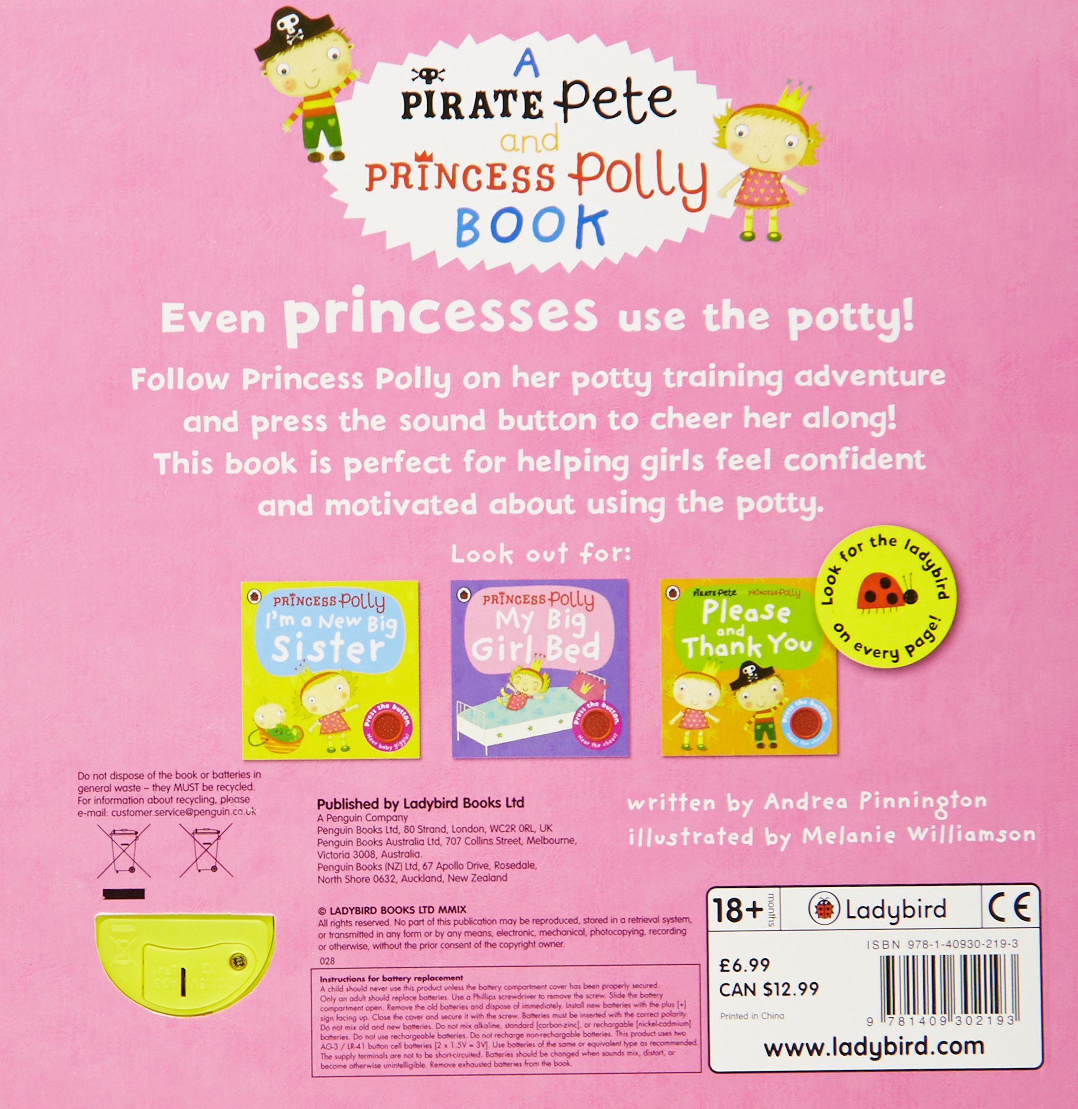 princess polly s potty amazon co uk andrea pinnington princess polly s potty amazon co uk andrea pinnington 9781409302193 books