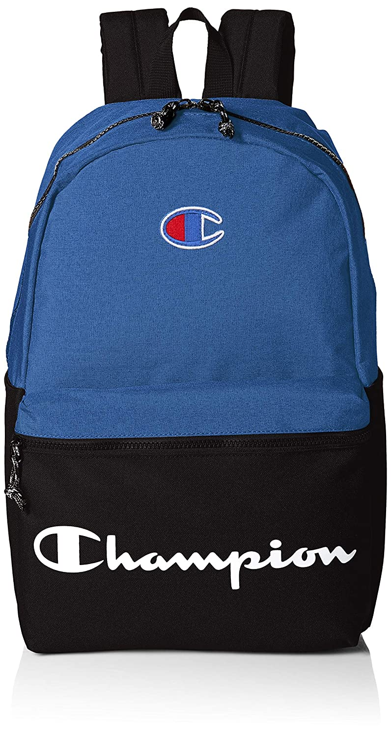 Champion mens standard Champion the Manuscript Backpack Black One Size CHF1000-001