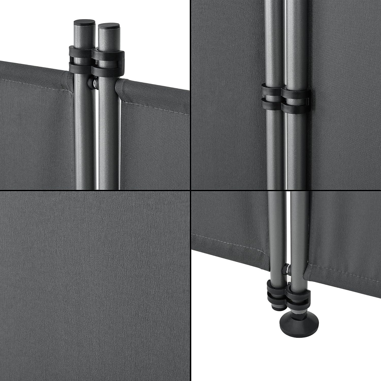 Paravent Separator 215x170cm Grey Sun-Blind pro.tec