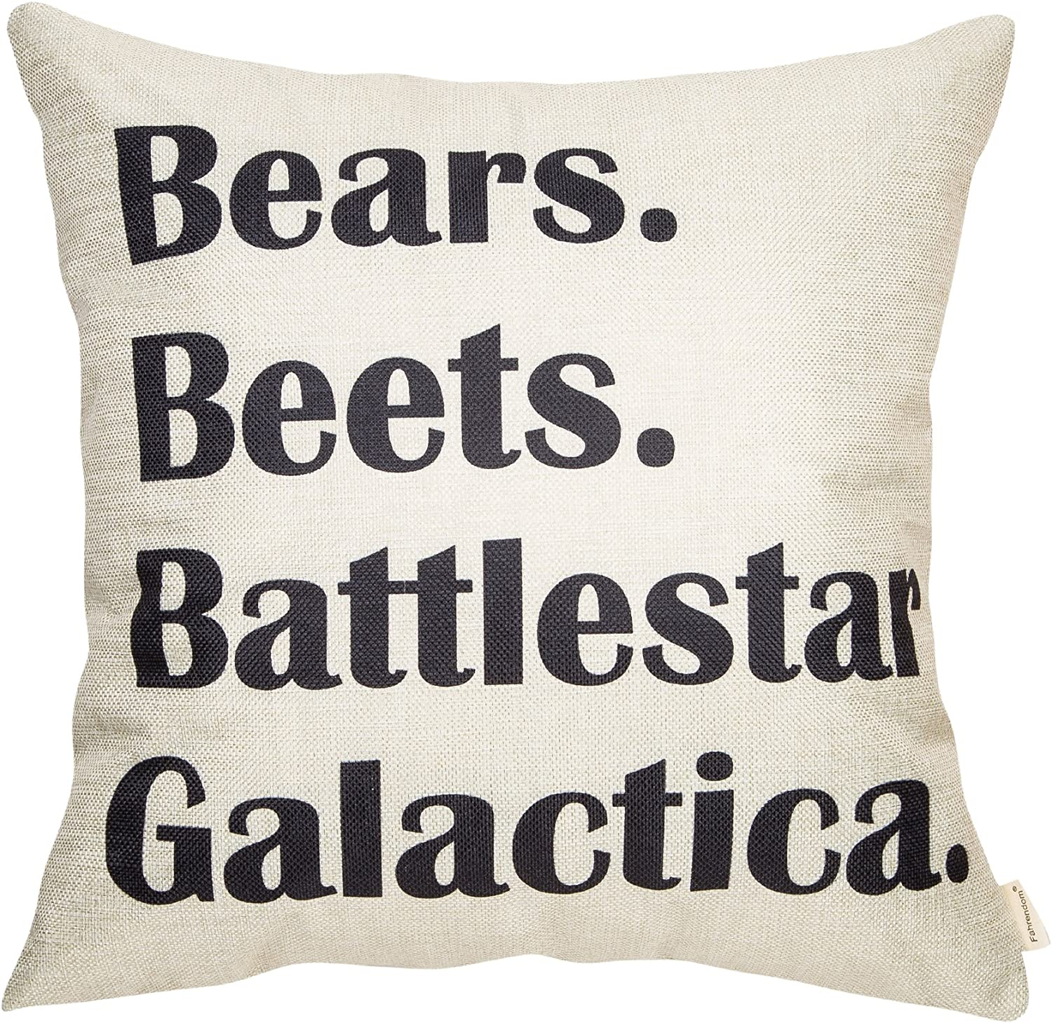 Battlestar Galactica License Plate Frame Perfect for Any The Office Fan! Bears Beets