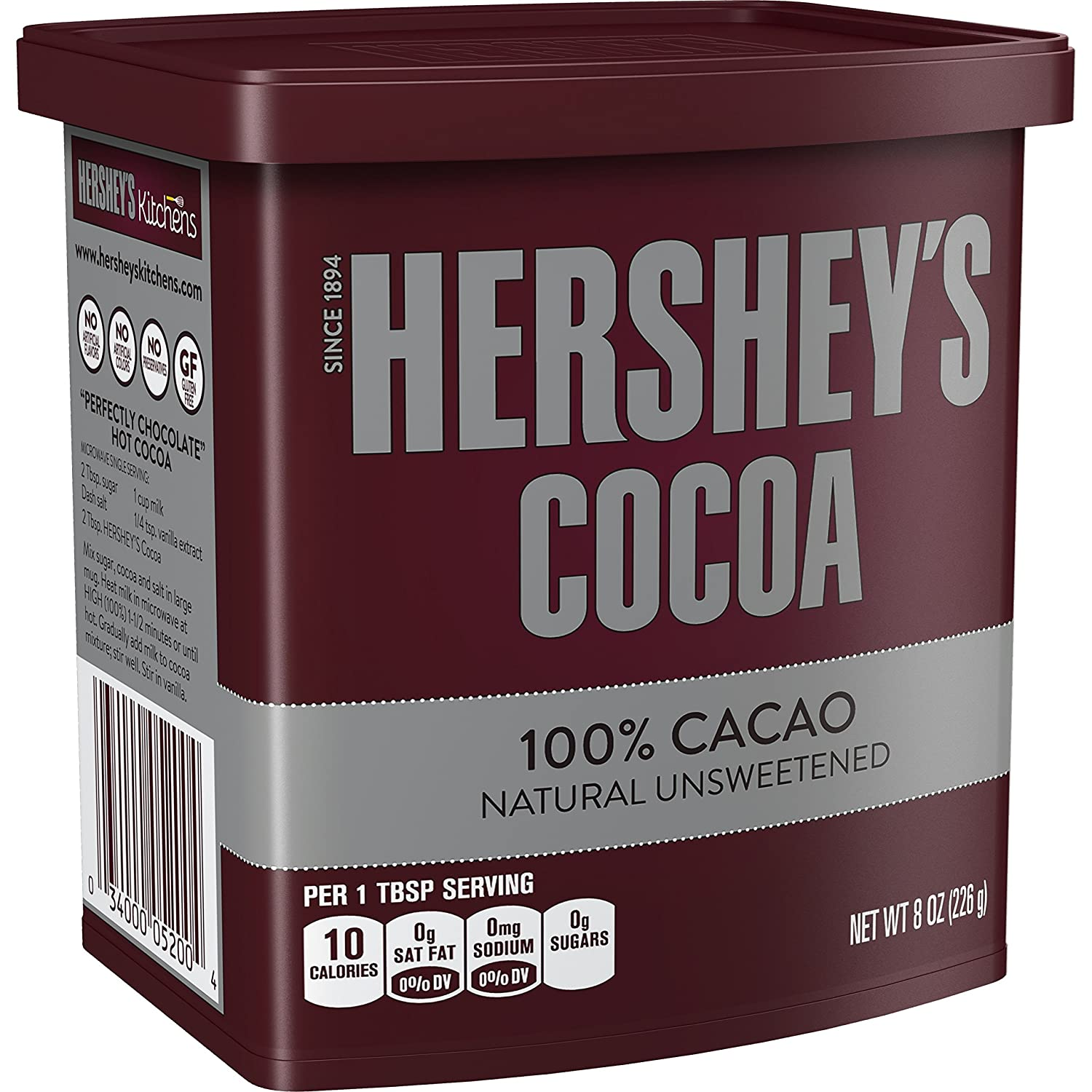 HERSHEY'S Natural Unsweetened