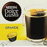 Nescafe Dolce Gusto Caffe Crema Grande 16 Tassen 128 g, 1er Pack (1 x 128 g)