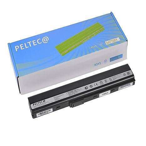 PELTEC@ - Batería de repuesto para portátil ASUS A31-K42, A32-K42, A31-K52, A32-K52, ...