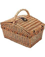 Cilio Verbania deluxe 155709 Cestino per picnic per 4 persone