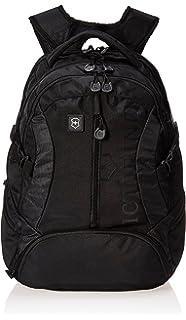 Amazon.com  Victorinox Vx Sport Cadet Laptop Backpack Black Logo ... 6db60a168c