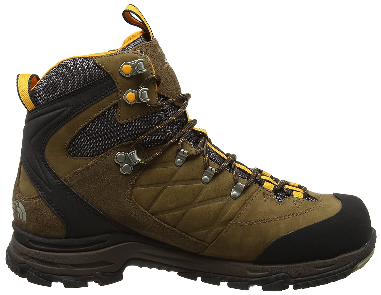 85c2eed23a The North Face Verbera Hiker GTX II, Chaussures de trekking et de randonnée  homme - Marron - Brown (Cub Brown/Zinnia Orange L7P),42.5 EU: Amazon.fr: ...