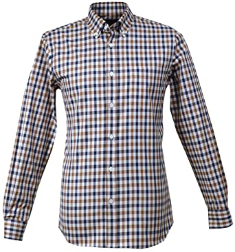 great deals 2017 new products huge selection of Aquascutum Men`s Devonshire Housecheck Shirt 011557011 ...
