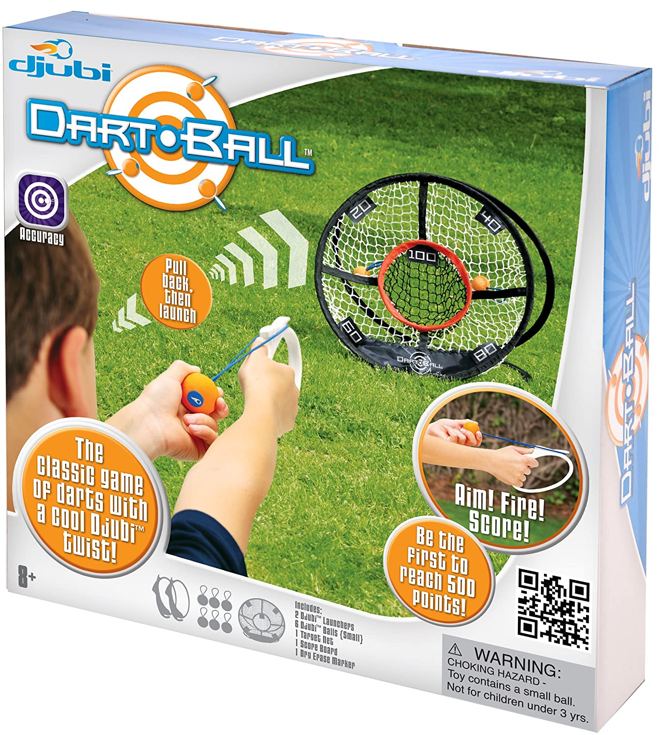 Amazon Djubi Dart Ball Toys & Games