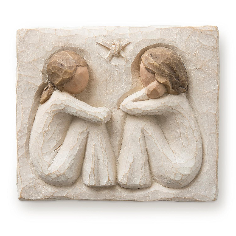 Demdaco DD26502 Plaque Willow Tree Friendship Figurine