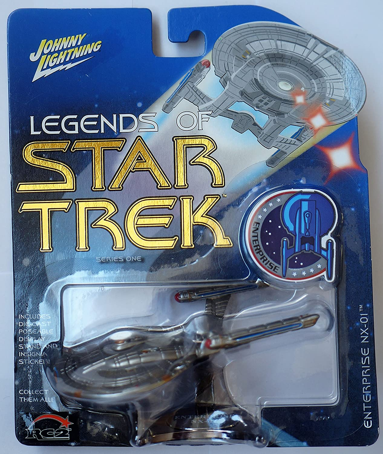 Legends of Star Trek Series One USS Enterprise NX-01 Johnny Lightning