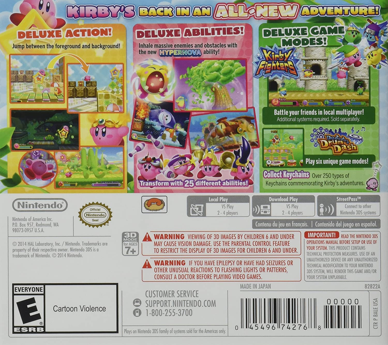 Amazon.com: Kirby Triple Deluxe - 3DS [Digital Code]: Video ...