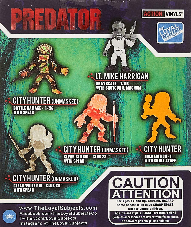 Predator Series 1 The Loyal Subjects Vinyls City Hunter Skull Staff 2//12 No Box