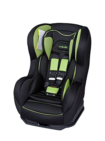nania cosmo sp luxe car seat in hatrix green fabric green black 0 rh amazon co uk nania car seat fitting instructions nania car seat instruction manual