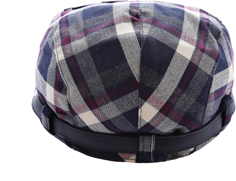 Coppole piatte Ragazzi Beb/è Estate Cotone Cappello Da Sole Beret Berretto Con Visiera Cappello Dei Bambini