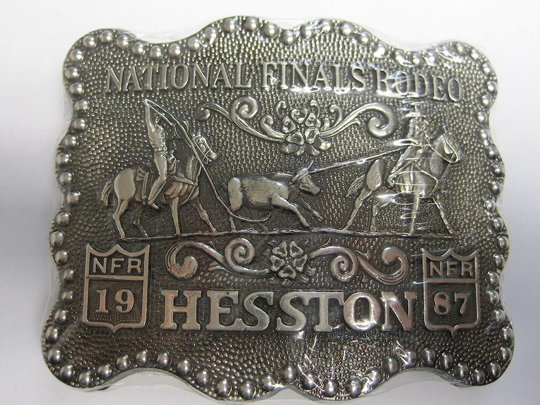 1987 Hesston Youth Belt Buckle