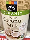 365 Everyday Value Organic Light Coconut Milk (Pack of 3)