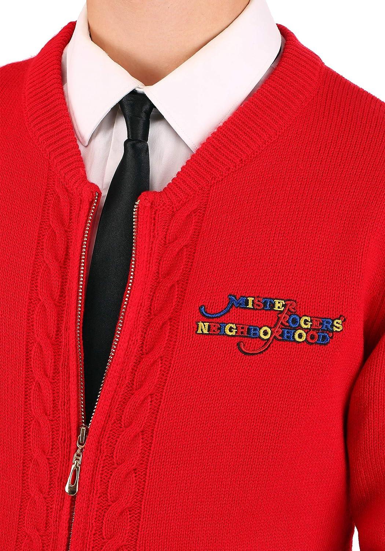 Amazon Com Men S Mister Rogers Sweater Costume Clothing