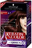 Schwarzkopf Keratin Hair Color, Bordeaux Red 4.7, 2.03 Ounce by Schwarzkopf