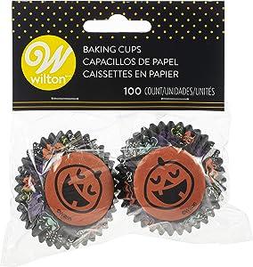 Non-Food Items Mini Baking Cups, Pumpkin 100/Pkg, One Size