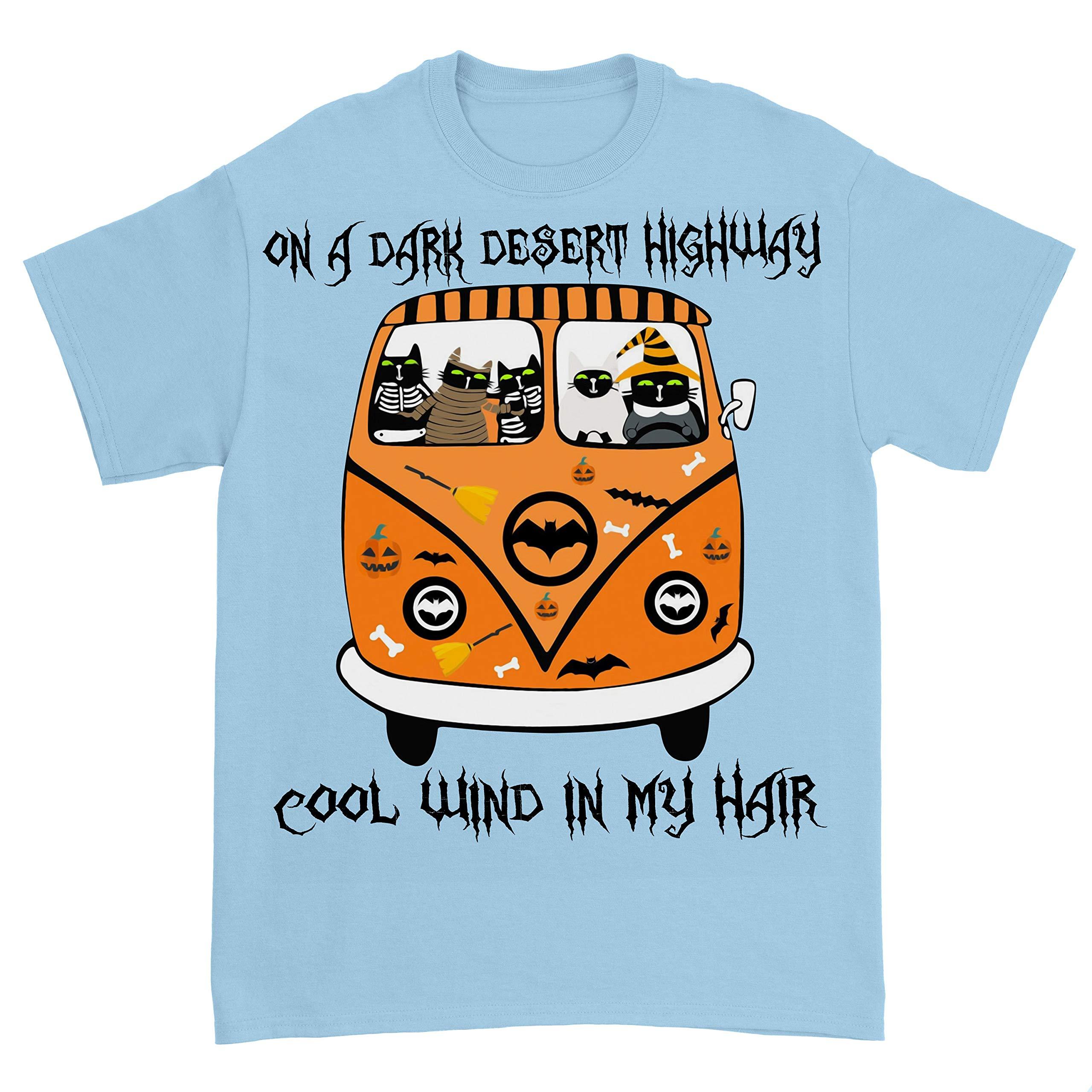 Hippie Van Car Black Cat Lovers On A Dark Desert Highway Cool Wind In My Hair Peace Love S